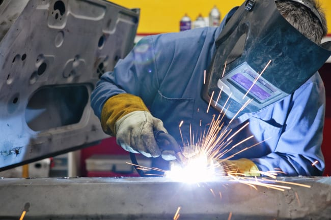 Welding Uses in Vehicle Repair
